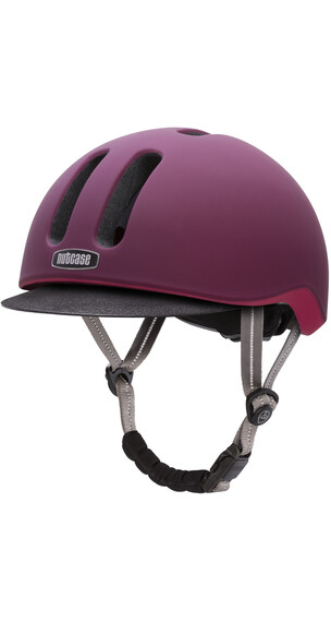 Nutcase Metroride Helmet Garnet Matte